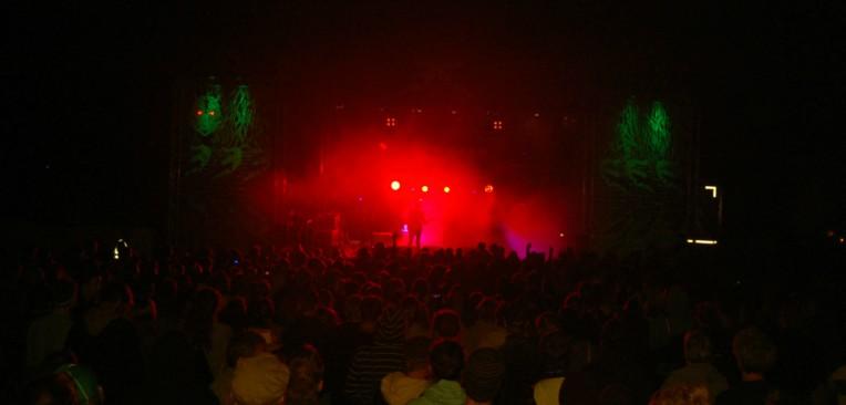 Skandalös Festival Bühne