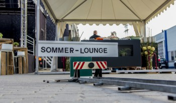 Event hoch³ - die Synergie-Sommer-Lounge
