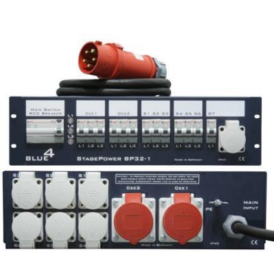 cee-32-a-19-zoll-stromverteiler-2x-cee-16-a-6x-schuko-mit-fi-und-sicherungsautomaten-