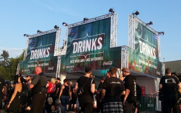 Mera Luna 2015 Drinks