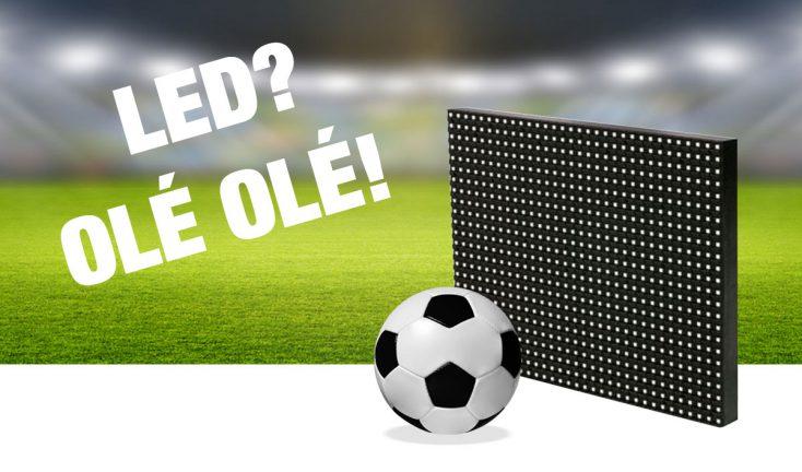 LED-Wände zur Fußball WM 2018 mieten