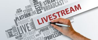 Live without infection! Internet Livestream